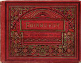 The front cover of Valentine & Sons Collotype View Series book - Edinburgh