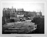 Photographic View Album of Edinburgh - Photograph of Edinburgh Castle from the Esplanade