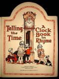 Book published by Valentine & Sons  -  Telling the Time  -  Frontispiece