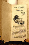 A children's 'book toy' by Valentine & Sons Ltd  -  'The Story of the Motor Car'  -  Page 1