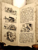 A children's 'book toy' by Valentine & Sons Ltd  -  'The Story of the Motor Car'  -  Pages 4-5