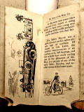 A children's 'book toy' by Valentine & Sons Ltd  -  'The Story of the Motor Car'  -  Pages 8-9