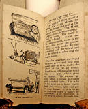 A children's 'book toy' by Valentine & Sons Ltd  -  'The Story of the Motor Car'  -  Pages 16-17