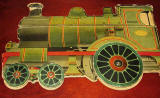 The back cover of  a children's book by Valentine & Sons Ltd  -  'The Story of the Railway Engine'