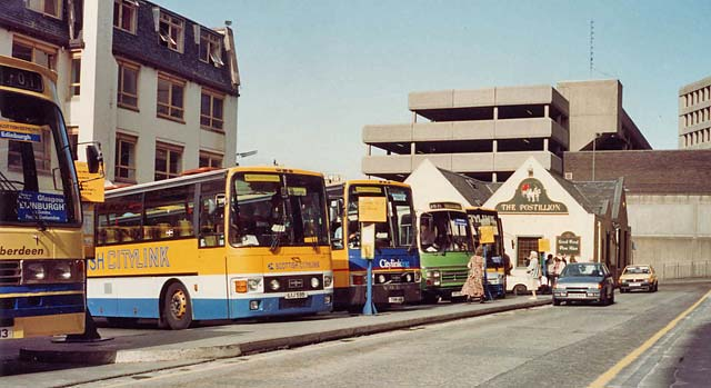 Buildings Bus Station Saint Andrew Square