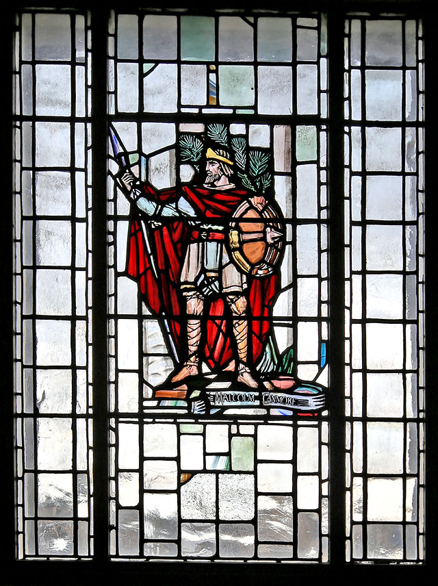 The City Chambers  -  High Street, Edinburgh  -  Stained Glass Window on the Staircase, 'Malcolm Canmore'