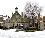 Dean School, Dean Path, Dean Village - Now converted to housing - Photographed December 2009
