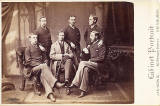 Edinburgh Medical Students, 1880  -  A Cabinet Portrait from the studio of James Howie Jun, 60 Princes Street, Edinburgh
