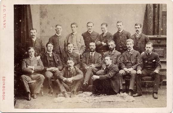 J G Tunny  - Cabinet Print  -  Medical Students