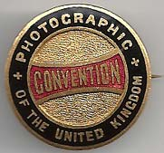 Enamel Badge of the Photographic Convention of the United Kingdom