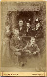 Carte de visite  -  Kyles & Moir  - 1877 to 1882  -  A group