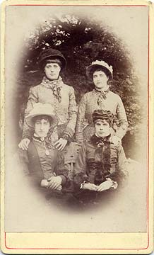 Carte de visiet by JK Munro  -  4 ladies