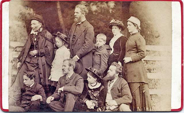 Photo by JK Munro mounted on a carte de visite card