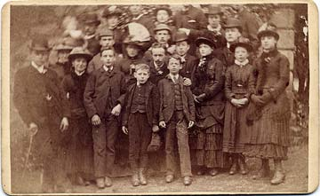 Carte de visiet by JK Munro  -  Large Group  -  Who are they?