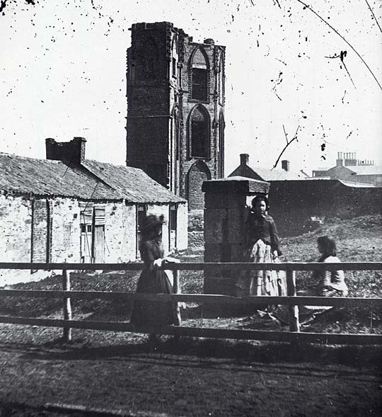 The Tower, Portobello  -  Photograph from the 1850s by Thomas Vernon Begbie