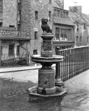 EPS Survey Section photograph - Greyfriar's Bobby and Candlemaker Row  -  by JC McKechnie, 1913