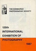 Catalogue for EPS International Exhibition  -  1987