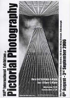 A poster for the EPS International Exhibition of Photography featuring a photo by Tony Richard ARPS.