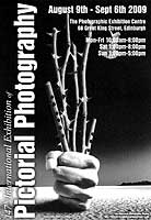 A poster for the EPS International Exhibition of Photography featuring a photo by Swarnendu Gosh