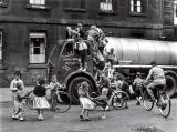 Children Playing On A Lorry, Glasgow' by Roger Mayne, 1958