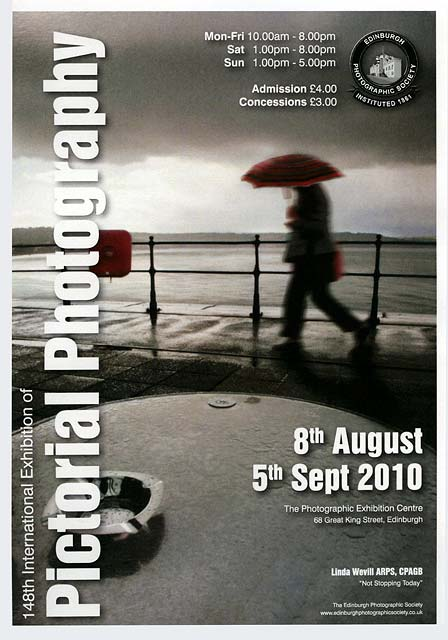 A Poster For The EPS International Exhibition Of Photography 2010 Featuring Photo By Linda