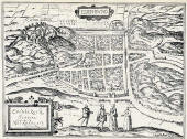 Maap of Edinburgh  -  c.1582