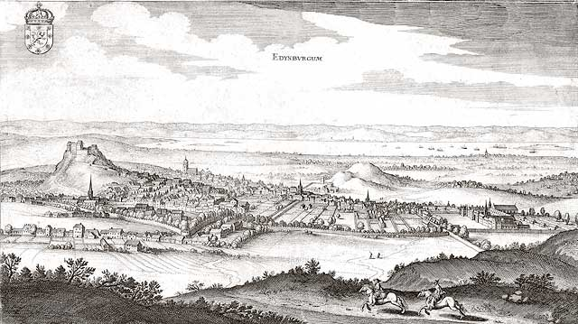 View of Edinburgh from the South  -  c.1649