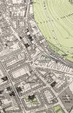 Edinburgh Old Town  -  Extract from a Bartholemew Map, 1891  -  St Leonard's