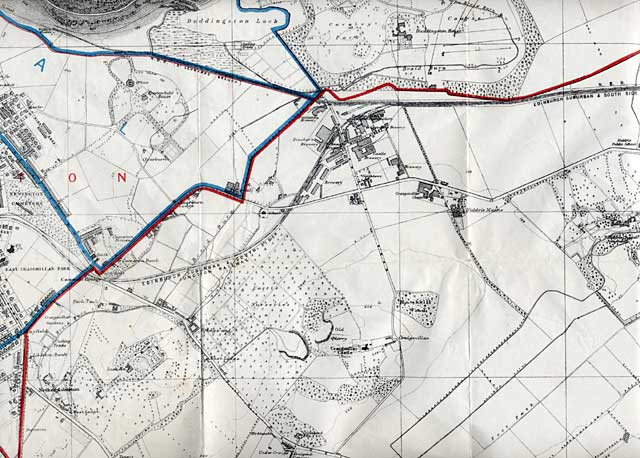 Edinburgh and Leith Map, 1915  -  South-east Edinburgh section