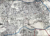 Edinburgh and Leith Map, 1815  -  South Edinburgh Section