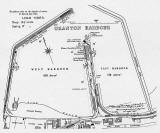 Map of Granton Harbour, 1937