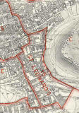Edinburgh and Leith map, 1940  -  Dumbiedykes and St Leonards  section