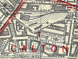 Edinburgh and Leith map, 1940  -  East Thomas Street and surrounding streets