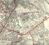 Edinburgh and Leith map, 1940  -  North Edinburgh section
