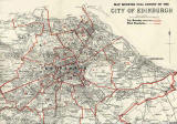 Edinburgh and Leith map, 1940