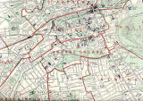 Edinburgh and Leith map, 1955  -  Central Edinburgh section