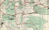 Edinburgh and Leith map, 1955  -  Craiglockhart and Braid Hills section