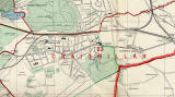 Edinburgh and Leith map, 1955  -  Craigmillar and Niddrie section