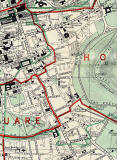 Edinburgh and Leith map, 1955  -  Dumbiedykes and St Leonards  section