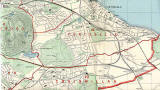 Edinburgh and Leith map, 1955  -  East Edinburgh