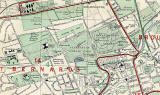 Edinburgh and Leith map, 1955  -  Inverleith section