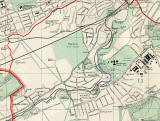 Edinburgh and Leith map, 1955  -  Juniper Green and Colinton section