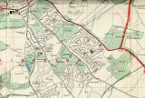 Edinburgh and Leith map, 1955  -  Liberton section