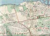 Edinburgh and Leith map, 1955  -  North-west Edinburgh section