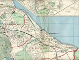 Edinburgh and Leith map, 1955  -  Portobello section