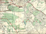 Edinburgh and Leith map, 1955  -  South Edinburgh section