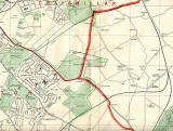 Edinburgh and Leith map, 1955  -  South-east Edinburgh section