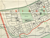 Edinburgh and Leith map, 1955  -  Sighthill + Calder section (zoom-out)