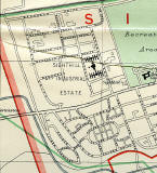 Edinburgh and Leith map, 1955  -  Sighthill + Calder section