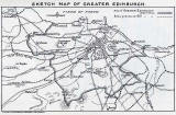 Map showing Edinburgh Boundaries before and after 1920
